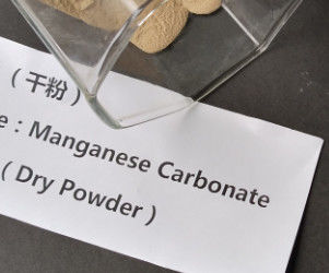 Mn 43.5 % Manganese Carbonate Powder , Manganese Sulphate Monohydrate Inorganic Compound Fertilizer