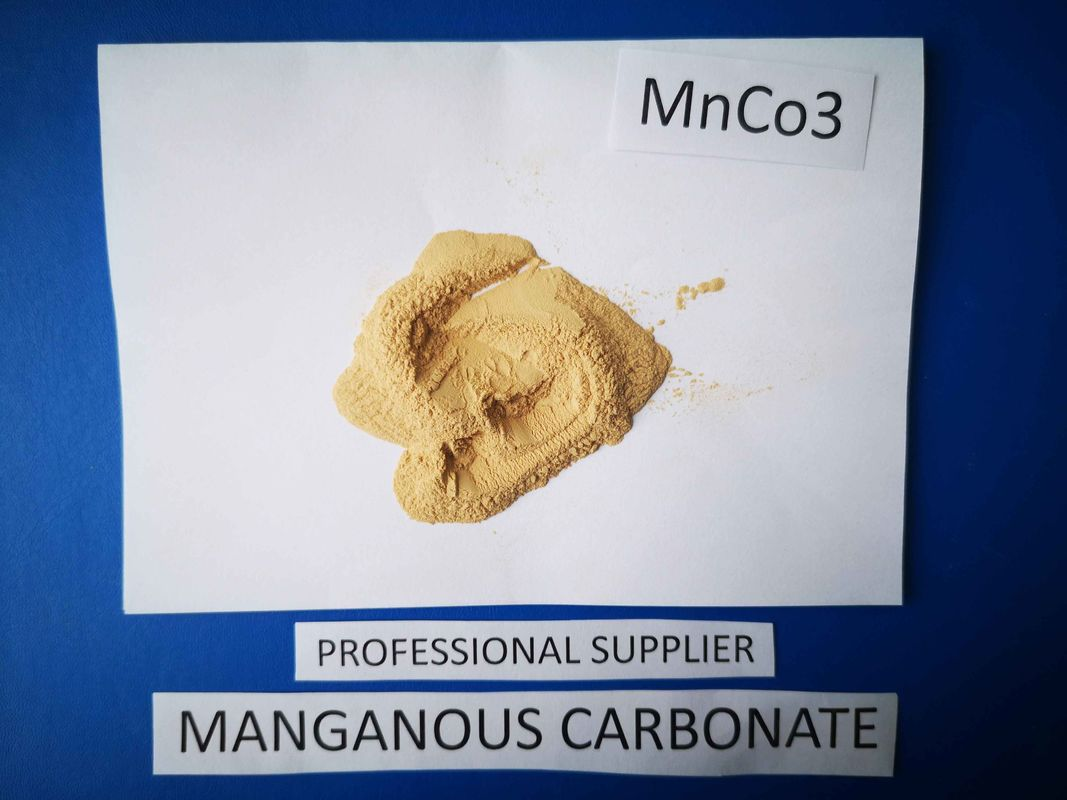 Industrial Grade Manganese Carbonate Powder , MnCO3 3 Magnetic Metals